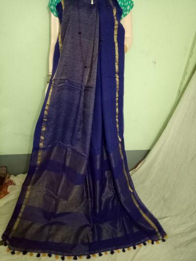 Pure Khadi Saree 04