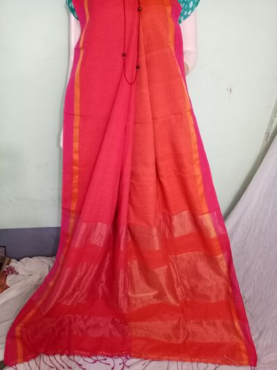 Pure Khadi Saree 05