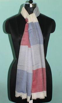 Designer Wool Silk Stole 03