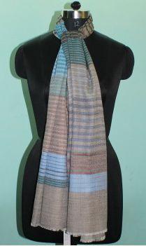 Designer Wool Silk Stole 04