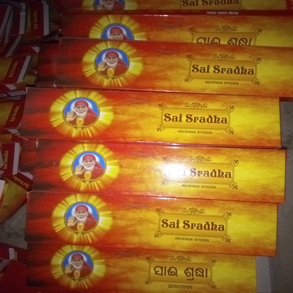 Sai Sradha Incense Sticks 01