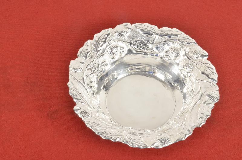 AVR-3017 Silver Bowl