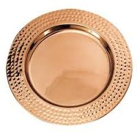 Copper Charger Plate 01