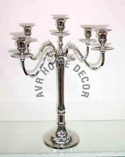Aluminium Pillar Candle Stand