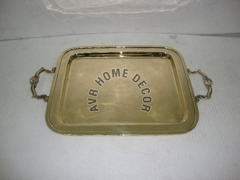Brass Square Trays