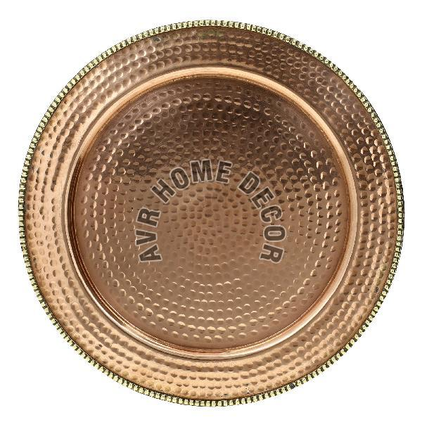 Copper Charger Plate 03