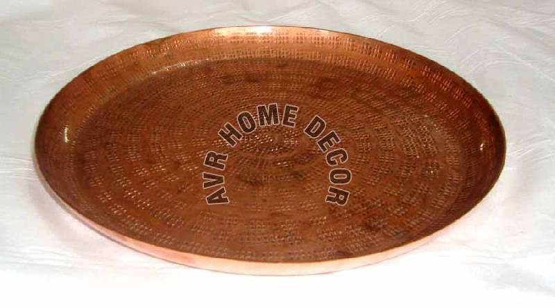 Copper Hammered Tray