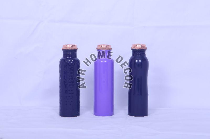 950ml Colored Copper Water Bottles