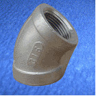 Stainless Steel Elbow 45