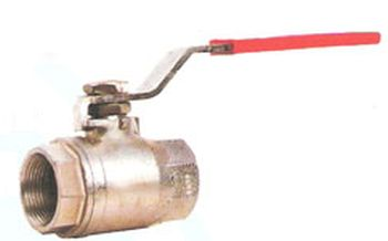 Two Piece Flanged End Ball Valve 01