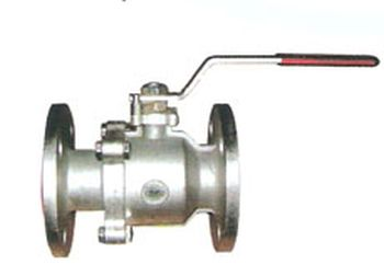 Two Piece Flanged End Ball Valve 02