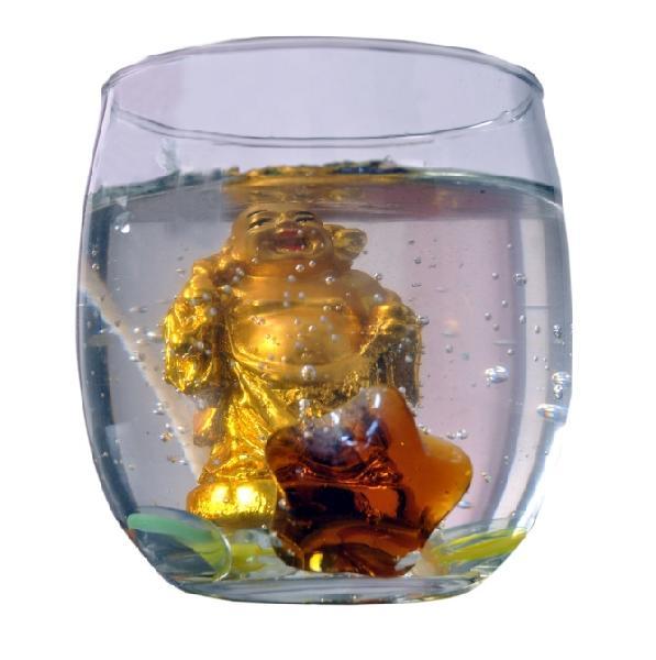 Laughing Buddha Gel Wax Candle