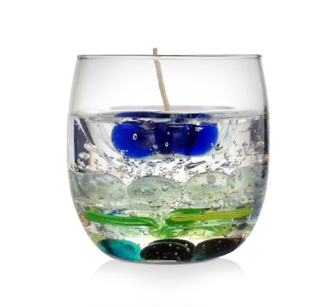 Regent Glass Gel Wax Candle