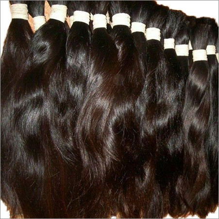 Non Remy Single Drawn Bulk Hair 02