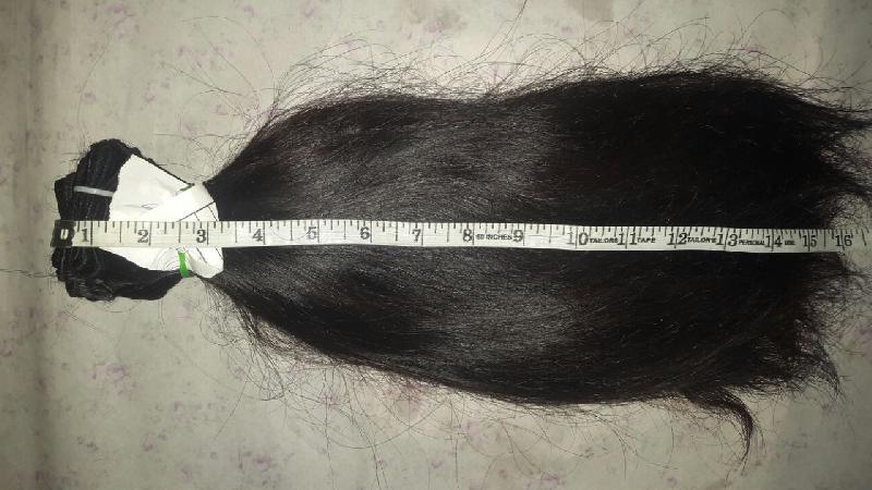 Straight Weft Hair 01