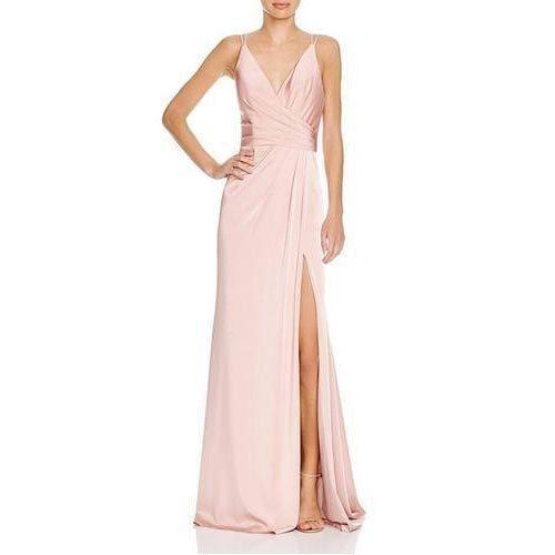 Designer Peach Gown