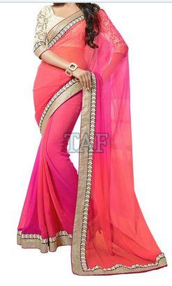 Embroidered Saree 01