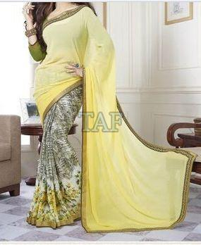 Embroidered Saree 02