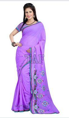 Embroidered Saree 03