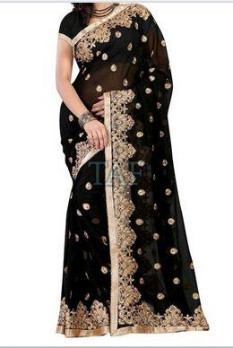 Embroidered Saree 04