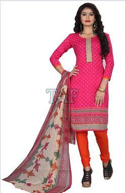 Printed Unstitched Suit 05