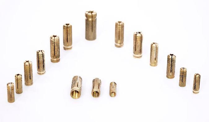 Brass Anchor Fasteners