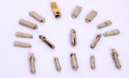 Brass Flat & Toggle Socket Pins 01