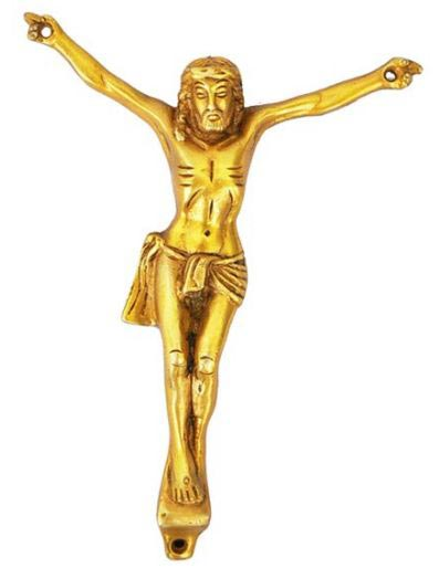 Brass Jesus Christ Statue