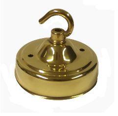 Polished Brass Ceiling Hooks