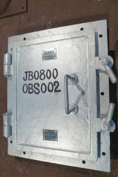 Cast Iron Furnace Doors