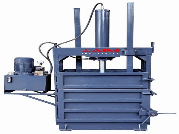 Double Cylinder Baling Press Machine