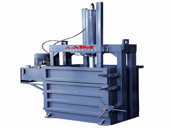 Single Box Baling Press Machine