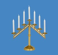 Church Candle Holders
