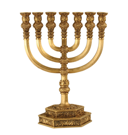 Menorah Candle Holders