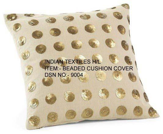 Beaded Cushion Cover