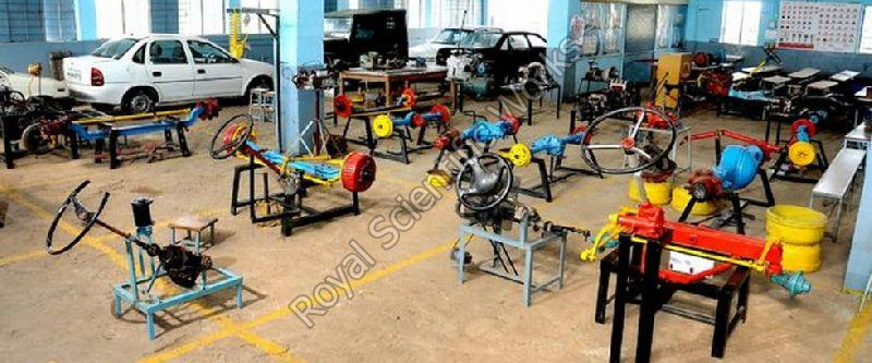 Automobile Engineering Lab Equipment