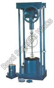 Motorized California Bearing Ratio Apparatus