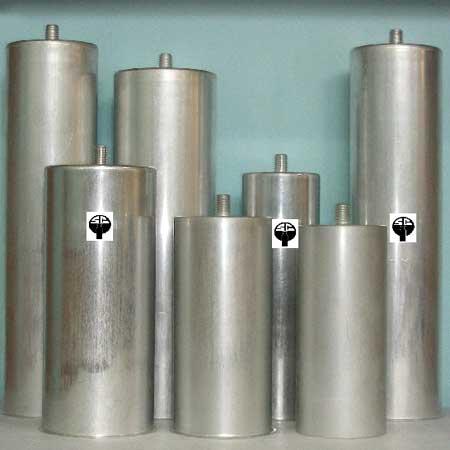 Aluminum Cylindrical Capacitor