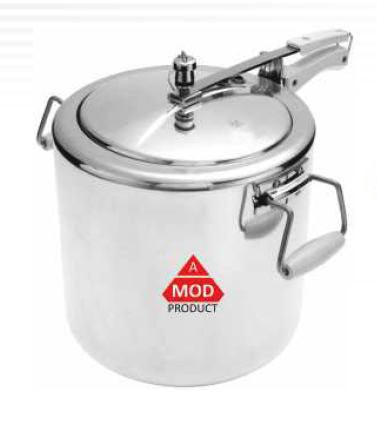 Jumbo Mirror Polished Pressure Cooker