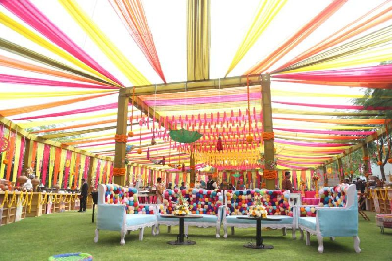 Wedding Varmala Stage Decoration