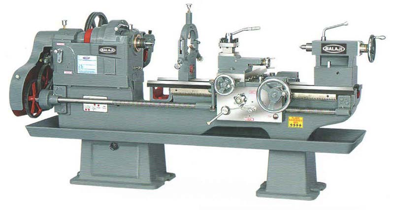 Pulley Driven Lathe Machine (VH 267-304)