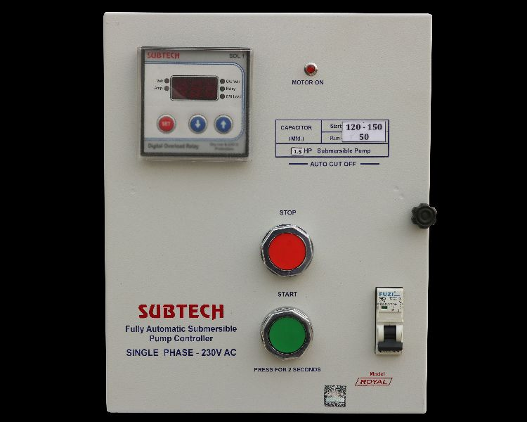 Single Phase Motor Starter Control Panel Manufacturer Supplier in ...