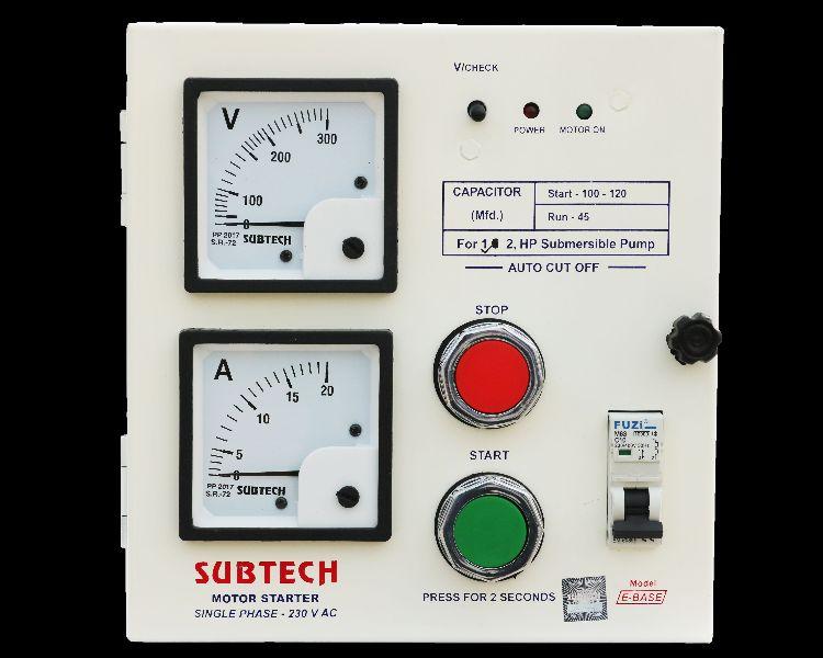 Single phase motor starter control panel manufacturer for Motor starter control panel