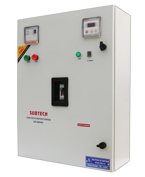 Star Delta Motor Starter Control Panel 04