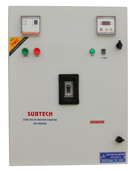 Star Delta Motor Starter Control Panel 02