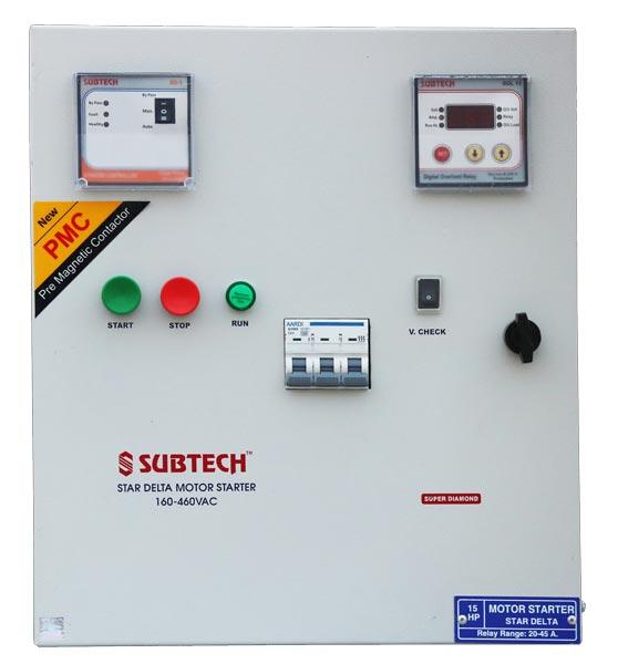 Three phase motor starter control panel manufacturer for Motor starter control panel