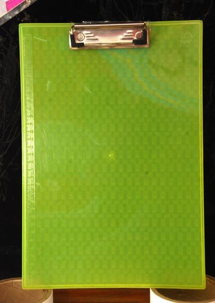 Plastic Clip Board