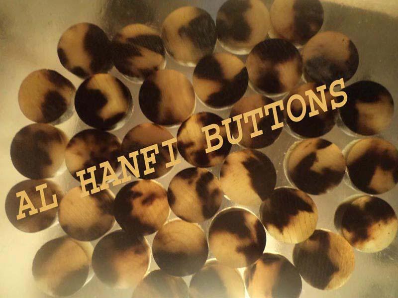 Ox Horn Blank Button 03