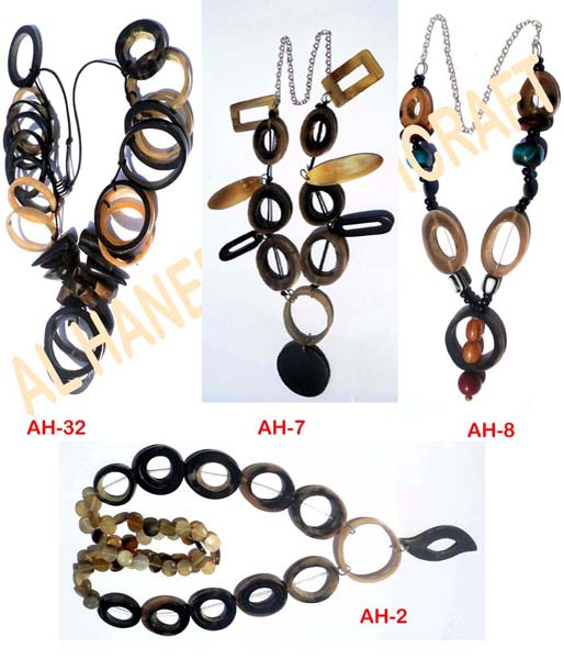 Horn Necklaces