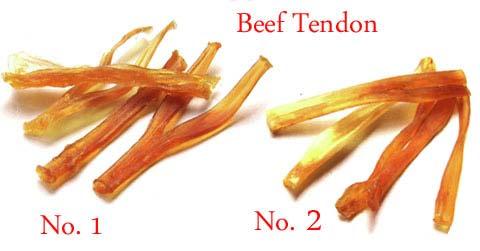 Dried Beef Tendon & Trachea